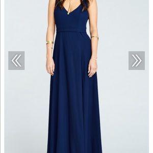 Show Me Your Mumu Navy Bridesmaid Dress Size Small